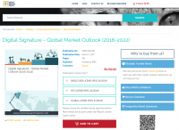 Digital Signature - Global Market Outlook (2016-2022)