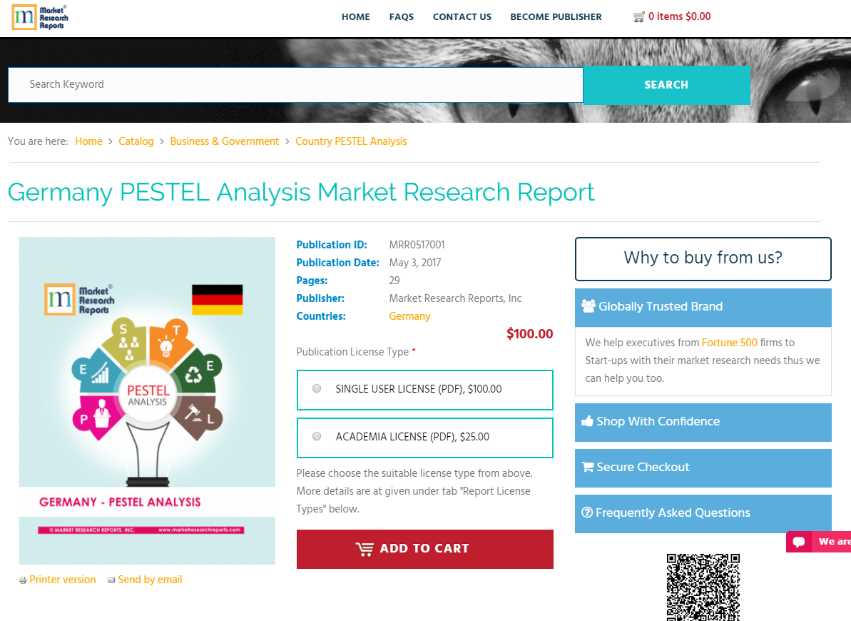 germany pestel analysis First, the north-german market is analysed, using pest and porter's five forces   the analysis is based on the outcome of the first two analyses and uncovers.