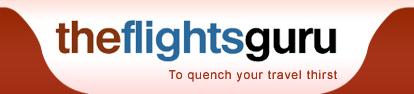 Logo for The Flights Guru'