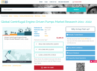 Global Centrifugal Engine-Driven Pumps Market Research