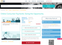 Online Consumer Payments: Sizing the Opportunity