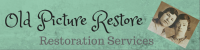 Old Picture Restoration Services Logo