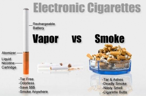 E cigarette users claim e cig benefits'