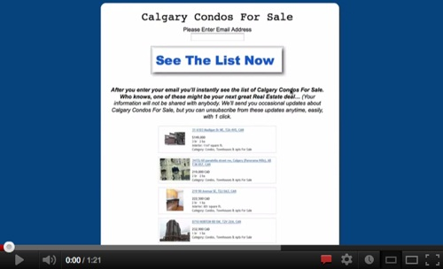 Search All Calgary Condos For Sale!'