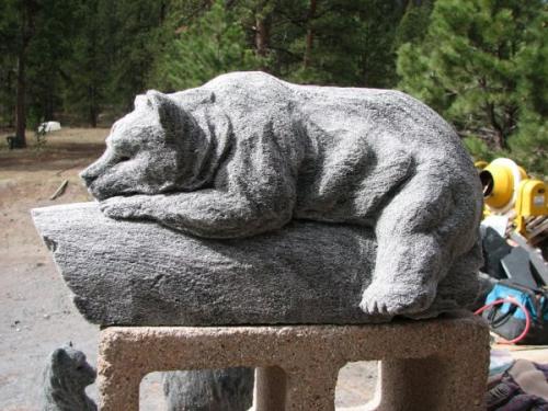 Small Resting Abbott Bear - John Kessler'