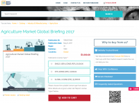 Agriculture Market Global Briefing 2017
