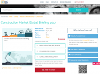 Construction Market Global Briefing 2017