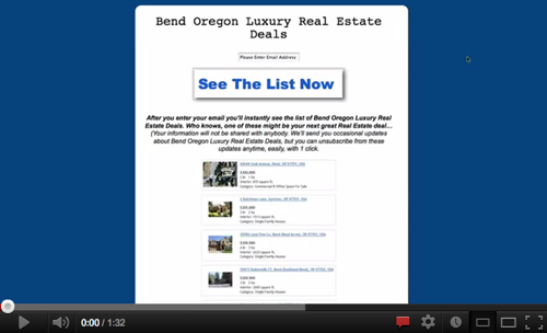 Amazing Bend Oregon Real Estate For Sale!'