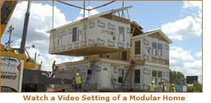 Modular Home set (http://www.modularhomesnetwork.com)'