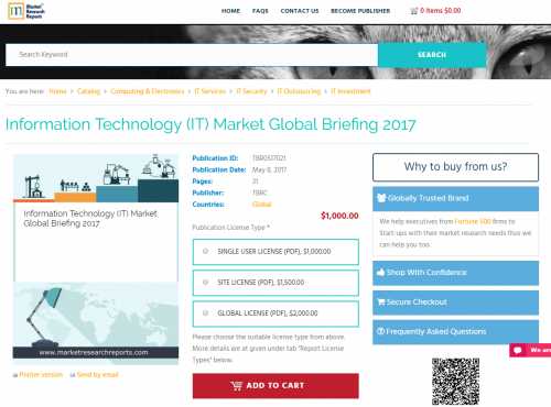 Information Technology Market Global Briefing 2017'
