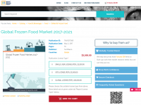 Global Frozen Food Market 2017 - 2021