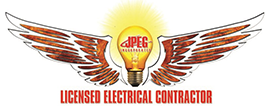 JPEG Licensed Electricians Logo