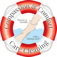 Compassion & Comfort Care Cleaning Logo