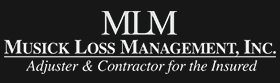 Musick Loss Management Adjusters Logo