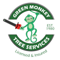 Green Monkeey Tree Services Logo