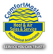 ComfortMaster Air Conditioning & Heating Logo