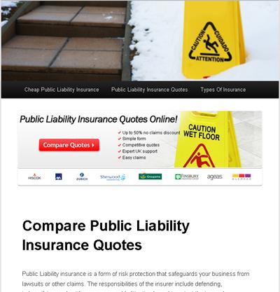 ComparePublicLiabilityInsuranceQuotes.com'