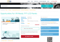 Opportunities For VR-Ready TFT-LCD Panels