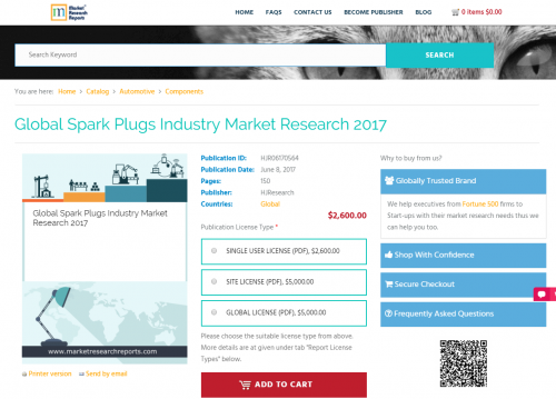 Global Spark Plugs Industry Market Research 2017'