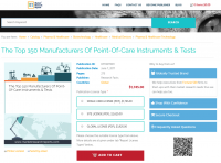 The Top 150 Manufacturers Of Point-Of-Care Instruments