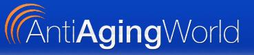AntiAgingWorld Logo'