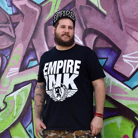 Empire ink tattoo spotlights sebastian olivares for Empire ink tattoo