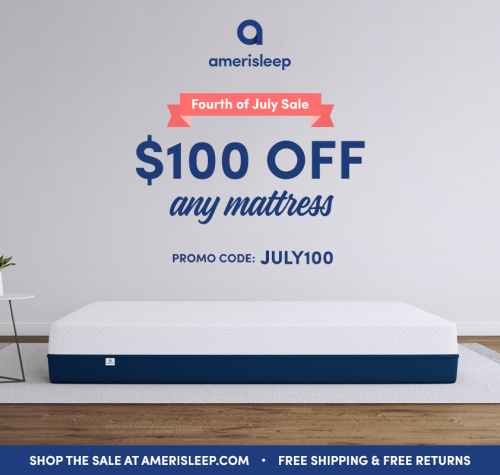 July 4th Mattress Sale at Amerisleep Features New Memory Foa'