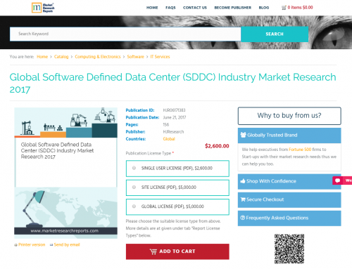 Global Software Defined Data Center (SDDC) Industry'