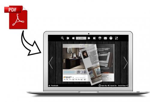Flip PDF by FlipBuilder Comes up as a Mac Magazine Maker'