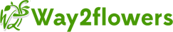 Way2flowers (a unit of Punsons Flora) Logo