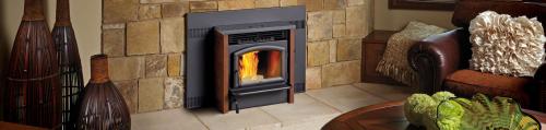 Pellet burning stoves'