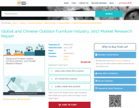 Global and Chinese Outdoor Furniture Industry, 2017 Market