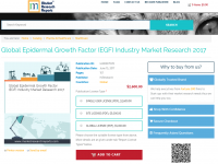 Global Epidermal Growth Factor (EGF) Industry Market