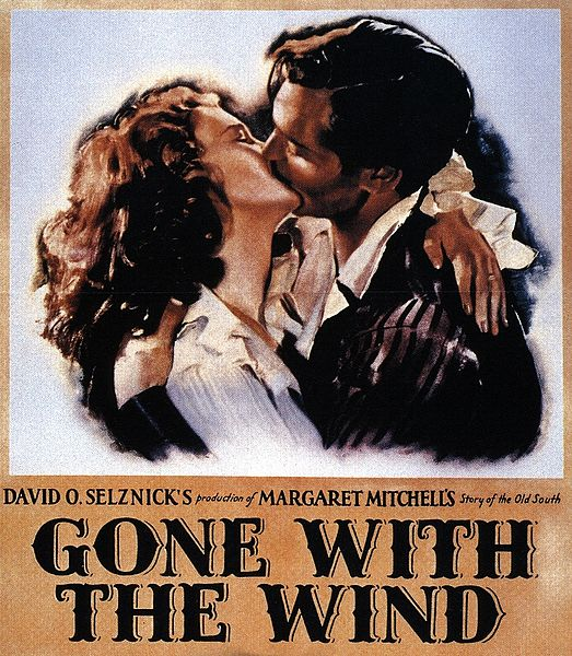 """Gone with the Wind"" Poster"