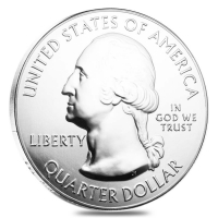 2017 5 oz Silver America the Beautiful ATB reverse
