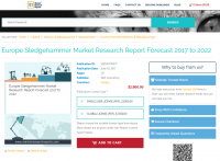 Europe Sledgehammer Market Research Report Forecast 2022