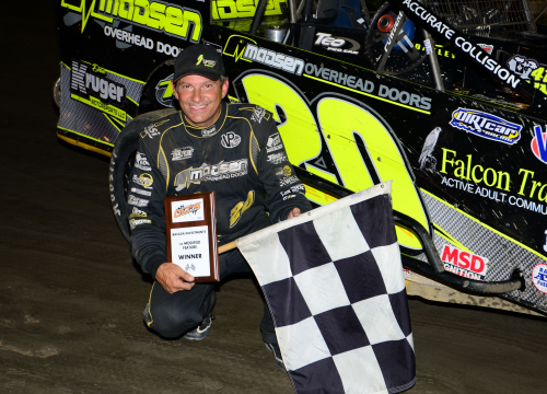 Brett Hearn Wins Lucky #13 With Champion Racing Oil'