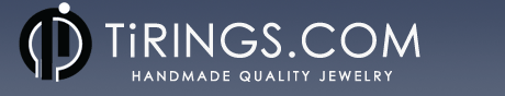 Logo for TiRings.com'