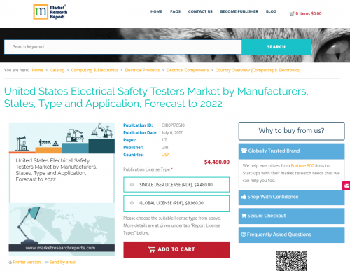 United States Electrical Safety Testers Market'