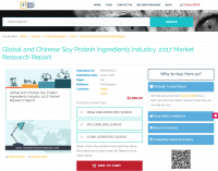 Global and Chinese Soy Protein Ingredients Industry, 2017