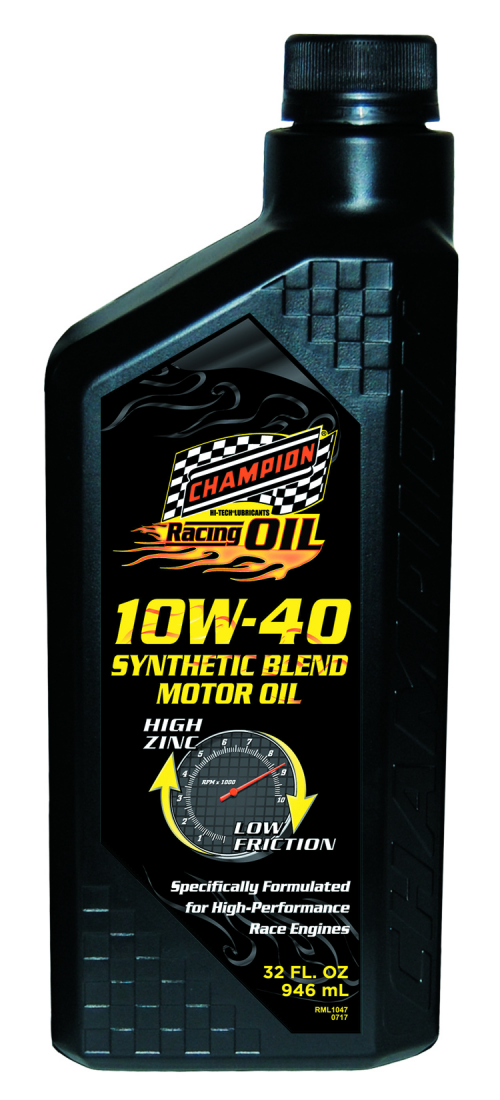 Champiuon 10w-40 Racing Oil'