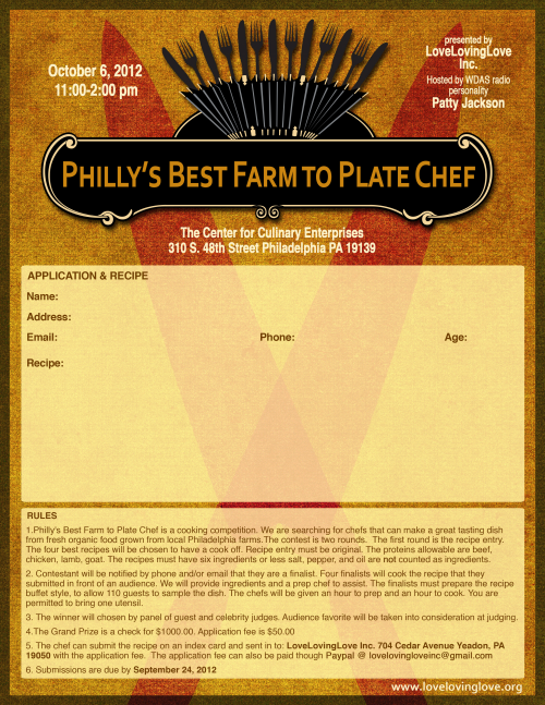 Philly's Best Farm to Plate Chef Competition'