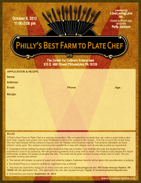 Philly's Best Farm to Plate Chef Competition