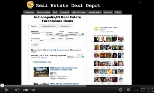 Foreclosed Homes in Indianapolis!'