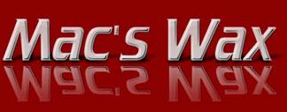 Logo for Mac's Wax Car Care '
