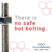 Eliminate Hot Bolting with Doxsteel Fasteners