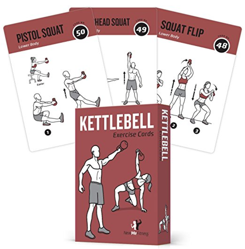 NewMe Fitness Unveils Kettlebell Workout Cards on Amazon