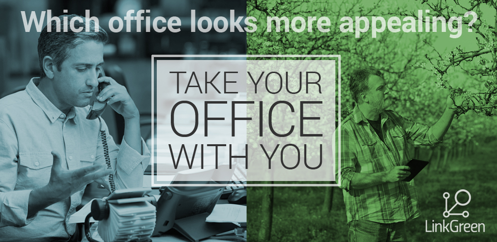 LinkGreen-Office on the go