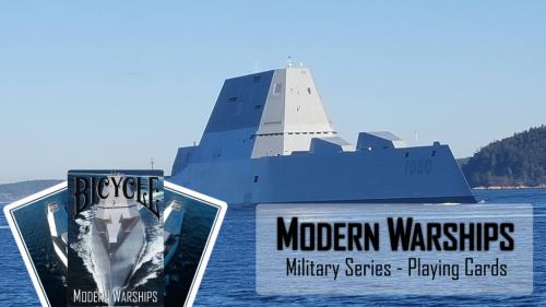 Modern Warships Playing Cards banner'