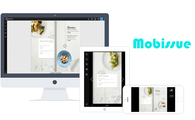 Mobissue Page Flip Software